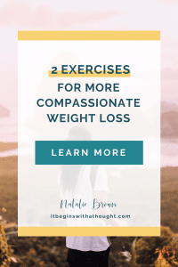 A Compassionate Way to Lose Weight