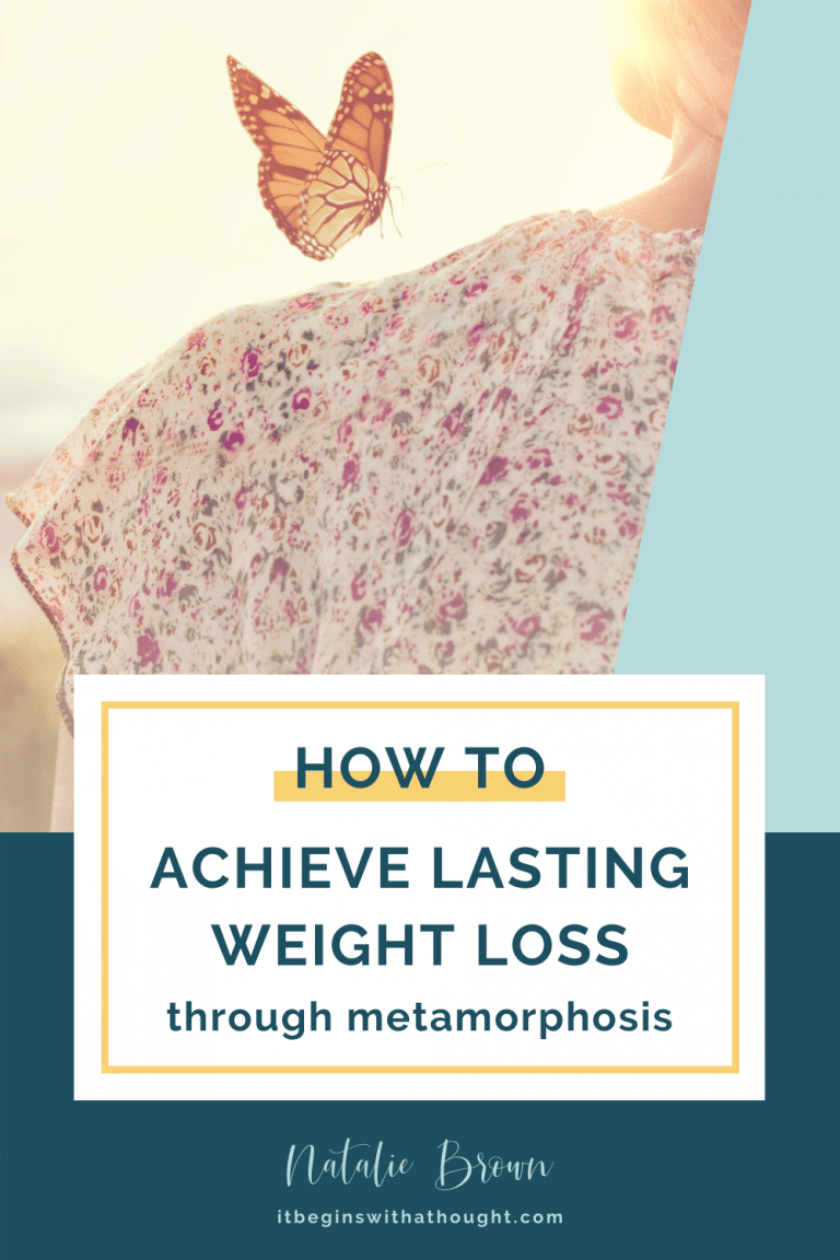 Setting out on a weight loss journey requires learning, discovery, and change. But on the other side, someone new is waiting for us to inhabit her.