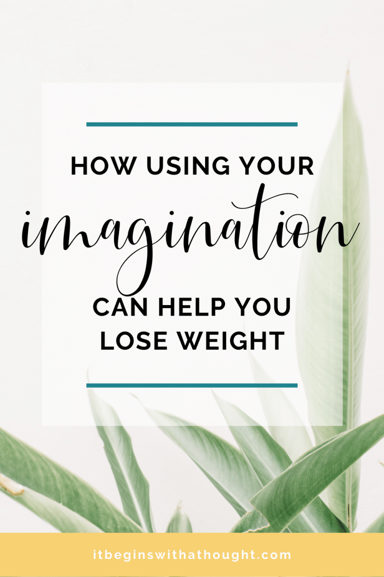 Your imagination can play a crucial role in your weight loss. Learn how to take control of your weight loss future using this mindset tool.