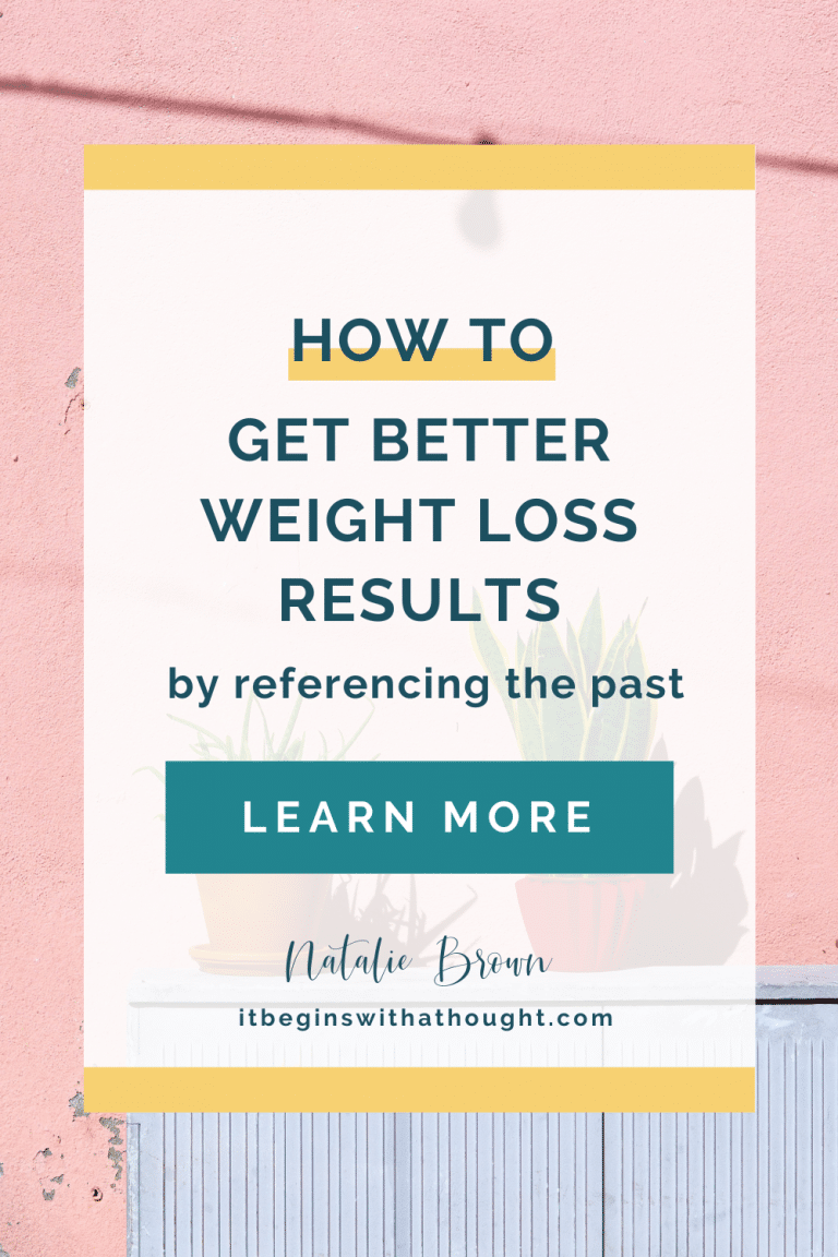 Just because you haven't learned how to lose weight for the last time yet doesn't mean you won't ever be able to. Learn how to use what hasn't worked in the past to create better results in the future.