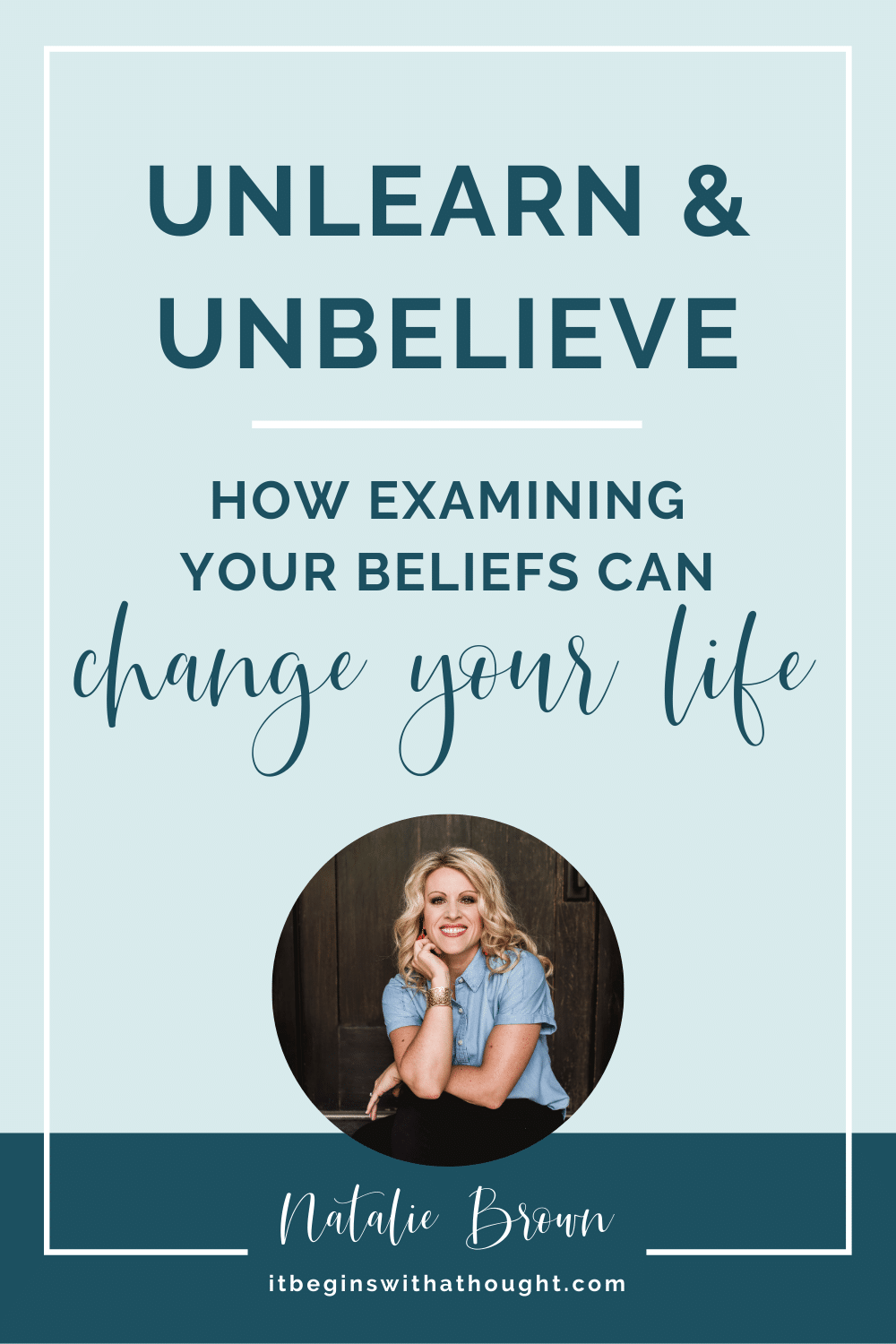 """What unexamined beliefs do you have that are holding you back? How to track down and """"unbelieve"""" them to reach your weight loss goals."""