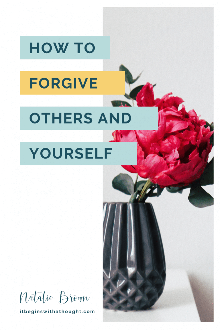 In order to forgive, we must process the negative emotions first. Learn the forgiveness process I use and how you can use it in your own life.