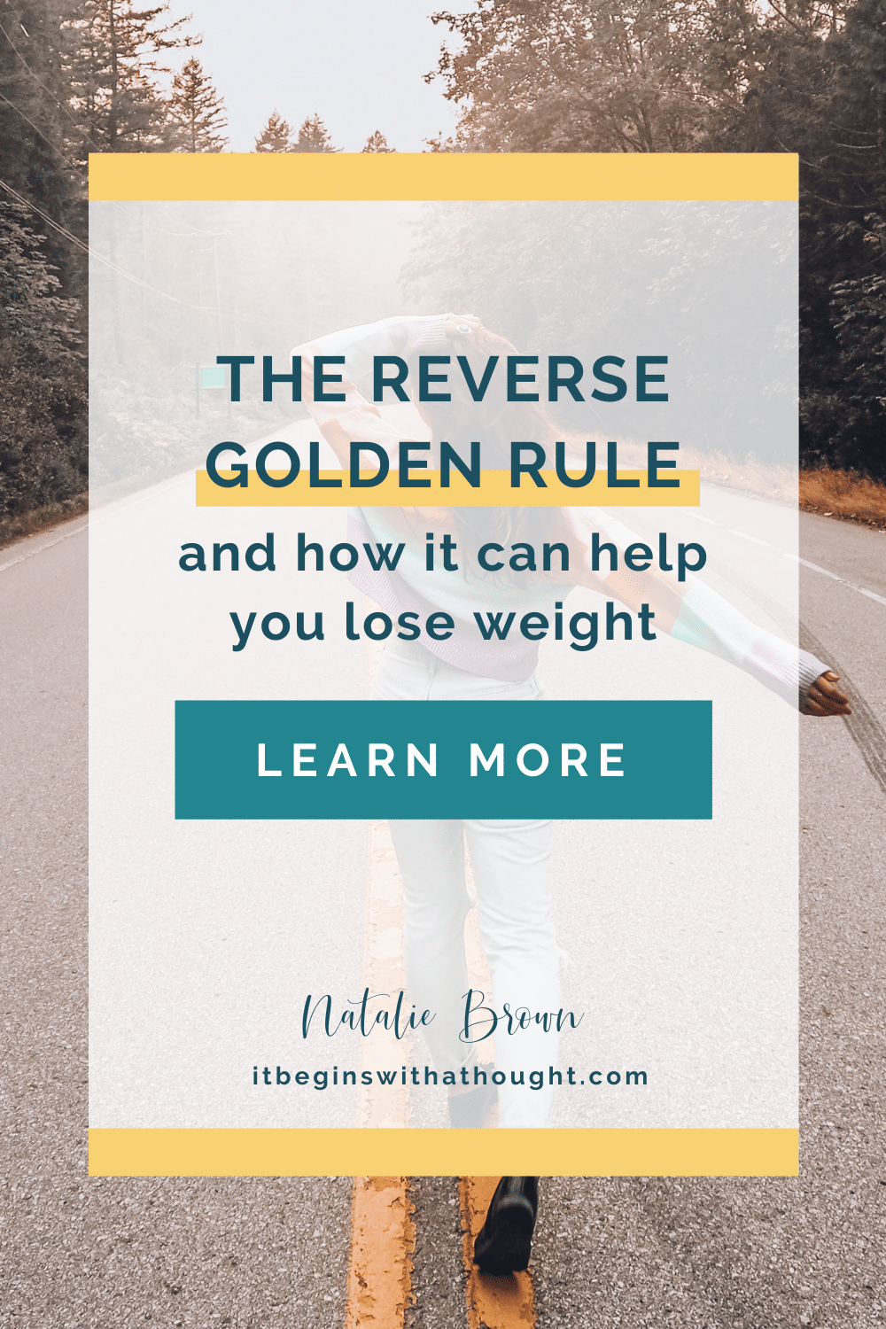 The Reverse Golden Rule And How It Can Help You Lose Weight