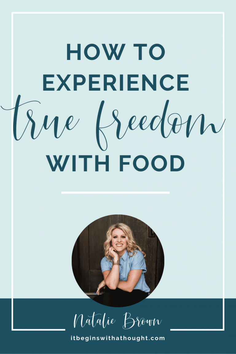 How To Experience True Freedom With Food