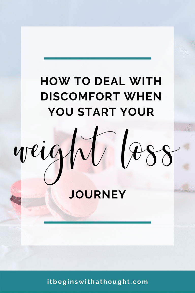 How To Deal With Discomfort When You Start Losing Weight