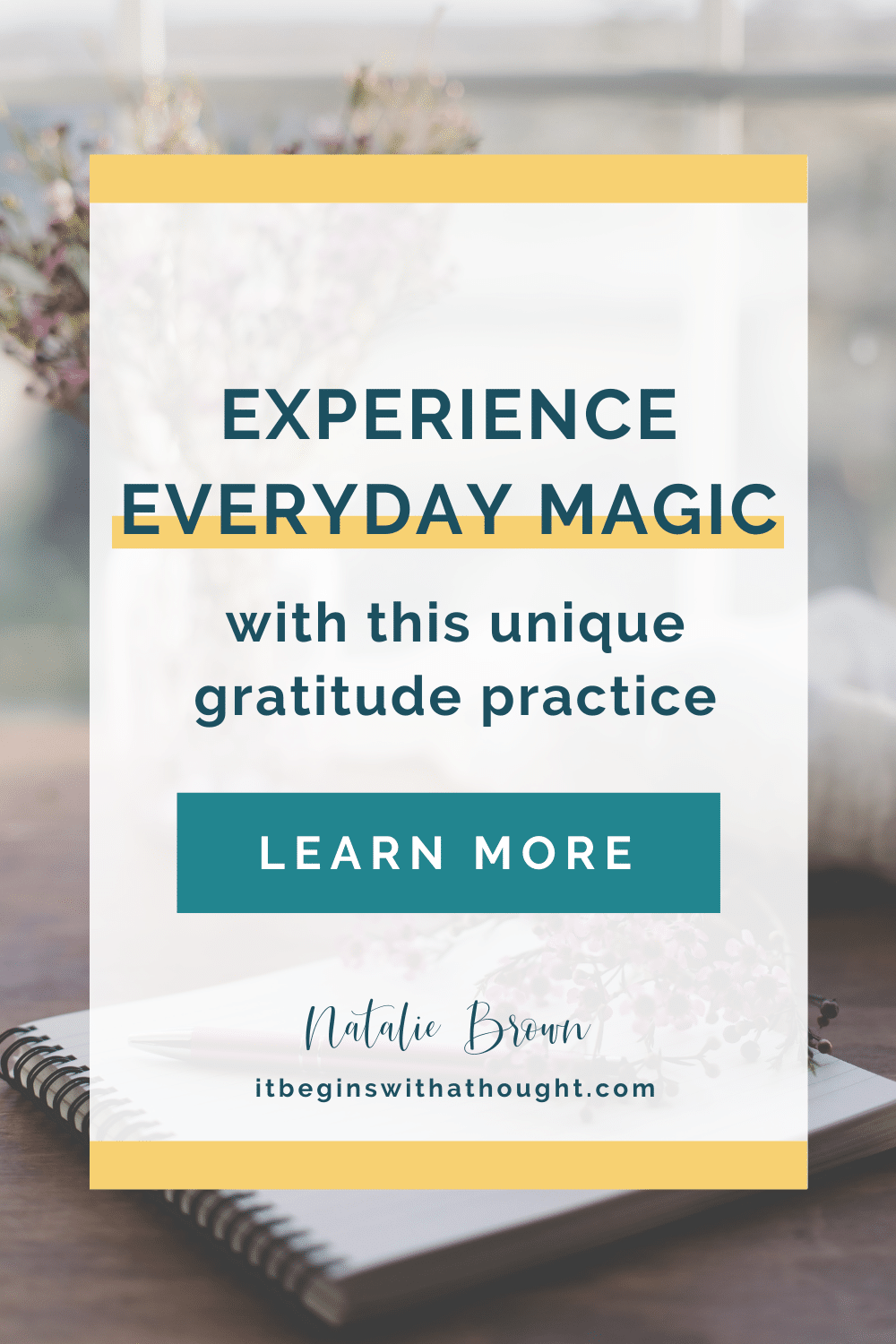 Learn about toxic gratitude and how to experience everyday magic with my unique gratitude practice instead.