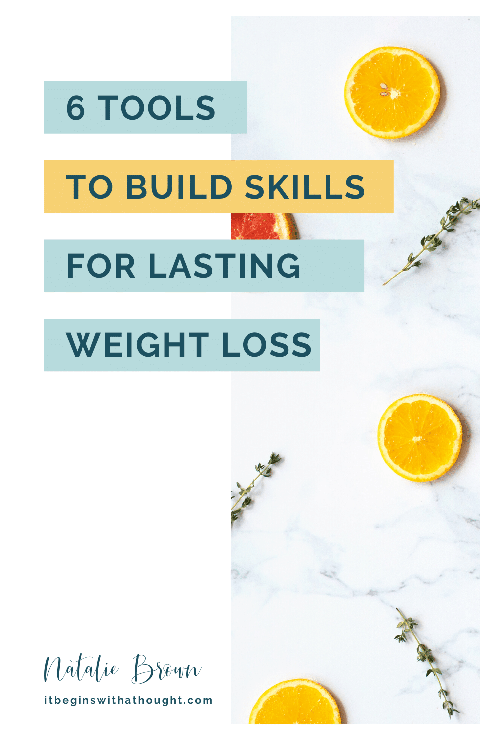6 tools for lasting weight loss